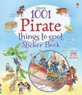 Usborne 1001 Pirate Things to Spot Sticker Book