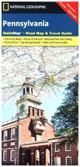 National Geographic GuideMap Pennsylvania