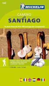 Michelin Karte Camino de Santiago