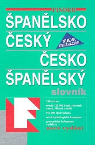 FIN Španělsko český-česko  španělský slovník