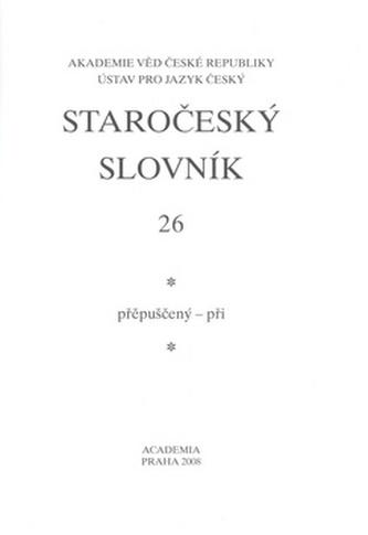 Staročeský slovník 26