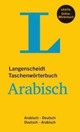 Langenscheidt Taschenwörterbuch Arabisch - Buch mit Online-Anbindung