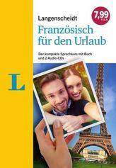 Langenscheidt Französisch für den Urlaub - Sprachkurs mit 2 Audio-CDs und Buch
