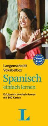 Langenscheidt Vokabelbox Spanisch einfach lernen