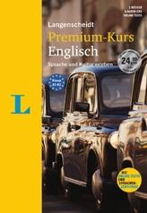 Langenscheidt Premium-Kurs Englisch - Set mit 2 Büchern, 6 Audio-CDs, MP3-Download, Online-Tests und Sprachen-Zertifikat
