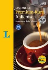 Langenscheidt Premium-Kurs Italienisch, Sprachkurs, 2 Bde., 6 Audio-CDs, MP3-Download, Online-Tests und Sprachen-Zertifikat