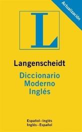 Langenscheidt Diccionario Moderno Inglés. Standard Spanish Dictionary