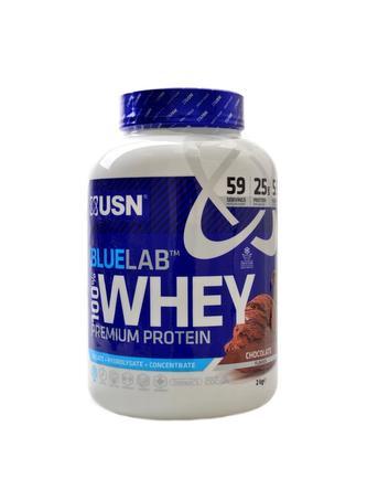 Bluelab 100% whey protein 2000 g - lískový oříšek