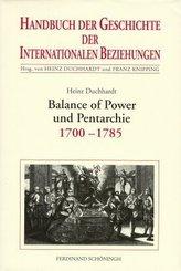 Balance of Power und Pentarchie 1700-1785