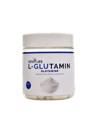 L-Glutamin 100 kapslí