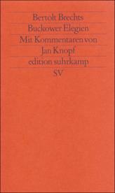 Bertolt Brechts 'Buckower Elegien'