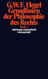 Grundlinien der Philosophie des Rechts oder Naturrecht und Staatswissenschaft im Grundrisse
