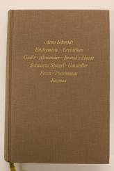Enthymesis, Leviathan, Gadir, Alexander, Brand's Haide, Schwarze Spiegel, Umsiedler, Faun, Pocahontas, Kosmas