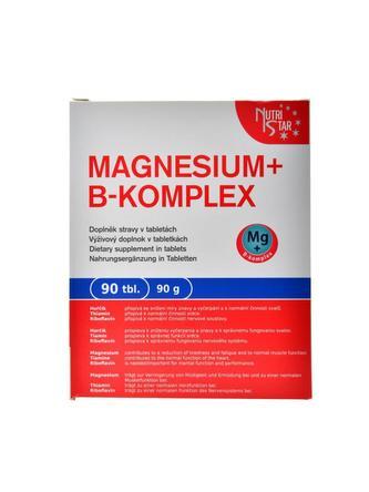 MAGNESIUM + B-KOMPLEX, 90 tbl. / 90 g