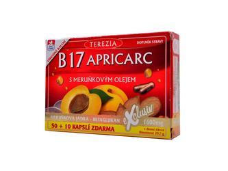 B 17 Apricarc s meruňkovým olejem 60 kapslí