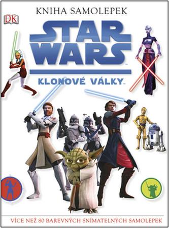 STAR WARS Klonové války Kniha samolepek