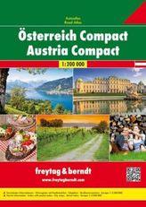Freytag & Berndt Atlas Österreich Compact. Austria Compact