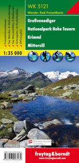 Freytag & Berndt Wander-, Rad- und Freizeitkarte Großvenediger, Nationalpark Hohe Tauern, Krimml, Mittersill
