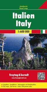 Freytag & Berndt Autokarte Italien. Italia. Italie