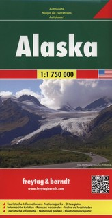Freytag & Berndt Autokarte Alaska