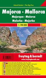 Freytag & Berndt Autokarte Mallorca. Majorca. Majorque; Maiorca; Maloka; Majorka