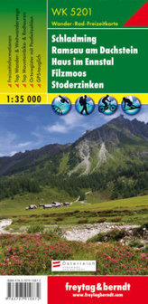 Freytag & Berndt Wander-, Rad- und Freizeitkarte Schladming, Ramsau am Dachstein, Haus im Ennstal, Filzmoos, Stoderzinken