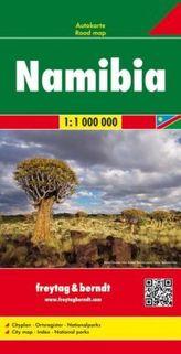 Freytag & Berndt Autokarte Namibia 1:1.000.000. Namibie