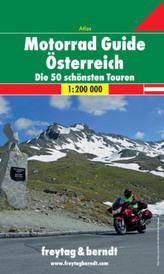 Freytag & Berndt Atlas Motorrad Guide Österreich