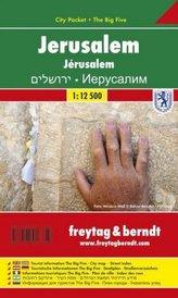 Freytag & Berndt Stadtplan Jerusalem