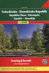Freytag & Berndt Atlas Superatlas Tschechische, Slowakische Republik. Superatlas República Checa, Eslovaquia / Superatlas Tsjech