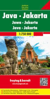 Freytag & Berndt Autokarte Java, Jakarta. Jawa, Jakarta