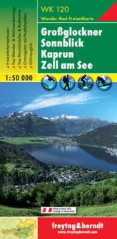 Freytag & Berndt Wander-, Rad- und Freizeitkarte Großglockner, Sonnblick, Kaprun, Zell am See