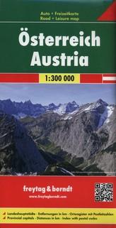 Freytag & Berndt Autokarte Österreich. Austria