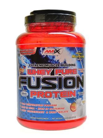 Whey-Pro Fusion protein 1000 g - čokoláda-arašídy-karamel