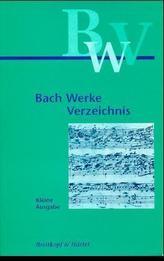 Bach-Werke-Verzeichnis, kleine Ausgabe