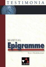 Epigramme, Text/Kommentar