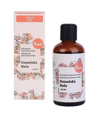 Navia Květová voda - damašská růže BIO (100 ml) - Navia/Kvitok