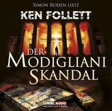 Der Modigliani Skandal, 4 Audio-CDs