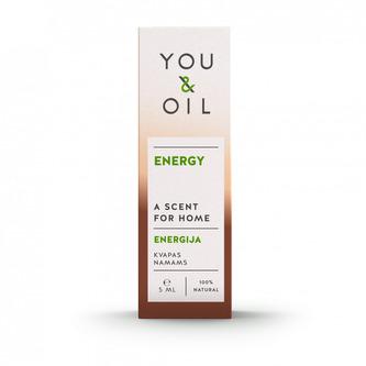 You & Oil Vůně do bytu - Energie (5 ml) - s aromaterapeutickými účinky - You & Oil