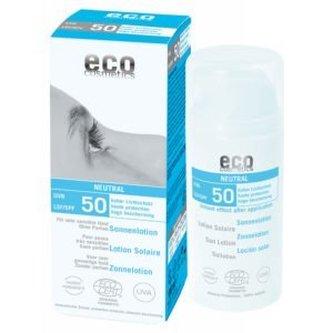 Eco Cosmetics Opalovací krém Neutral bez parfemace SPF 50 BIO (100ml) - Eco Cosmetics