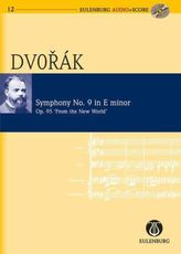 Sinfonie Nr.9 e-Moll op.95 B 178 (Aus der neuen Welt), Studienpartitur u. Audio-CD