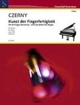 Die Kunst der Fingerfertigkeit op.740, für Klavier