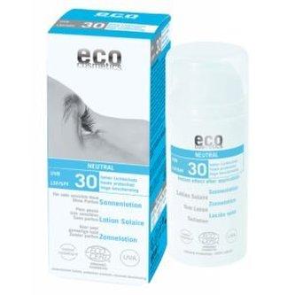 Eco Cosmetics Opalovací krém Neutral bez parfemace SPF 30 BIO (100ml) - Eco Cosmetics