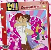 Die drei Ausrufezeichen - Kuss-Alarm!, 1 Audio-CD