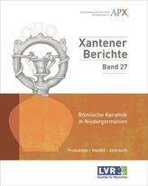 Römische Keramik in Niedergermanien