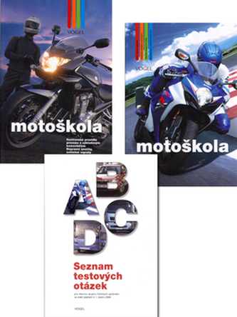 Motoškola + CD