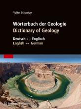 Wörterbuch der Geologie. Dictionary of Geology
