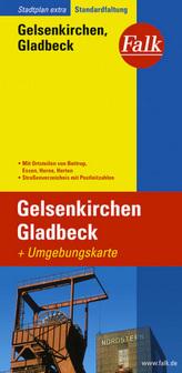 Falk Plan Gelsenkirchen, Gladbeck
