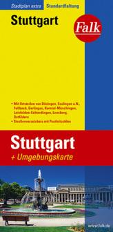 Falk Plan Stuttgart