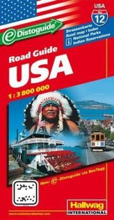 Hallwag USA Road Guide USA